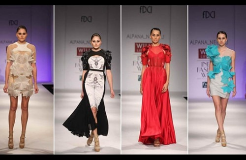 Alpana and Neeraj Collection at WIFW SS' 13 - Stylish Thoughts