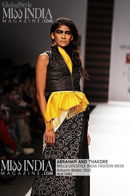 Wills India Fashion Week 2010 - Designers Abraham & Thakore's Contemporary
