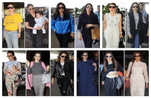 Noteworthy Indian Celebrity Airport Looks Indian Fashion Blog