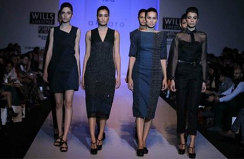 Gaurav Jai Gupta's Innovation & Craft taken to Another Level with Swarovski Crystals Handwoven into Fabrics - Stylish Thoughts