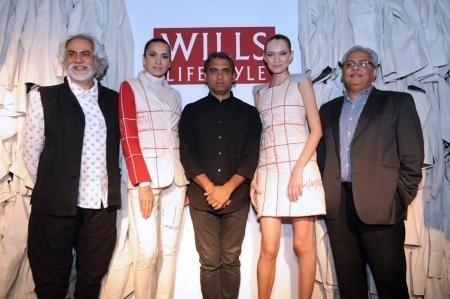 Indian Designer Rajesh Pratap Singh at Fashion Show Wills Fashion Show
