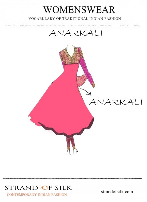 What is an Anarkali?