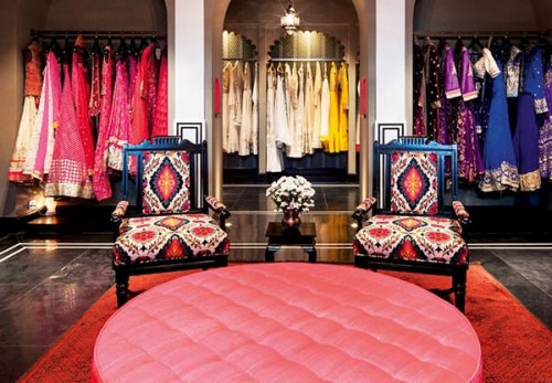 Anita Dongres love affair with Rajasthan | Anita Dongre's Store at Delhi's Luxury Residence - DLF Emporio Mall
