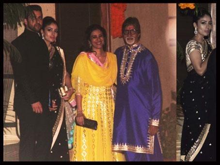 Nin Dusalj looks amazing in Anita Dongre's saree! | Saree by Indian Designer Anita Dongre