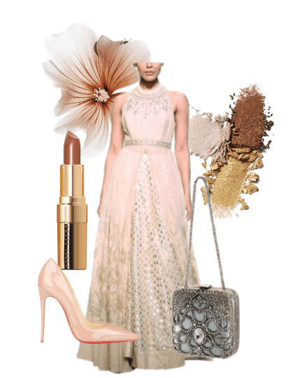 Perfect Autumn/Winter Special Occasion Attire Featuring an Anita Dongre Gown