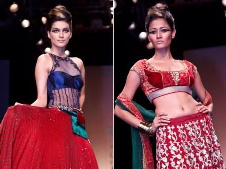 Mumbai Fashion designer Anita Dongre's Indian Clothes - Rajput Chic