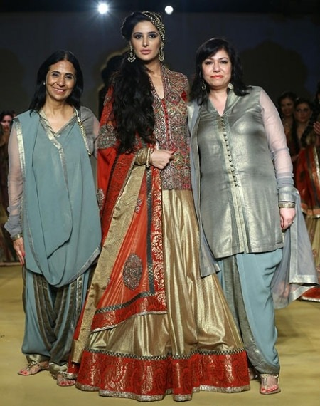 Ashima and Leena - Ashima and Leena could Design Nargis Fakhri's Bridal Clothes