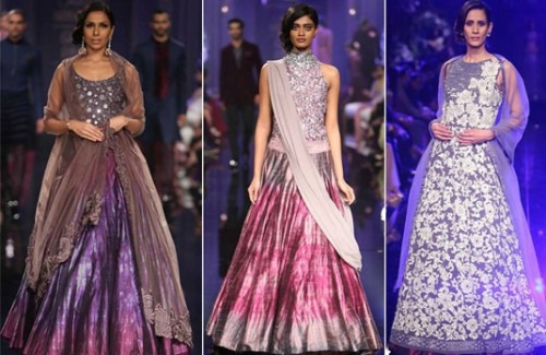 Best Indian Bridal Dresses At The Lakme Fashion Week 2014 | Bridal Lehengas at LFW14