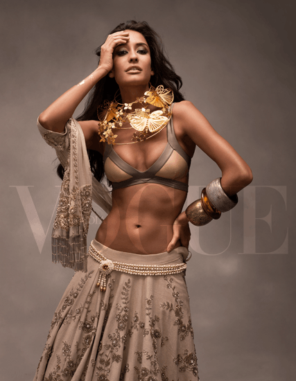 Lisa Haydons Stunning Appearance in Vogue India | Vogue Cover Shoot