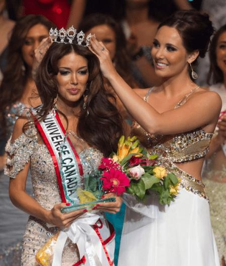Miss Canada To Model For Shantanu Nikhil Shantanu Nikhil News
