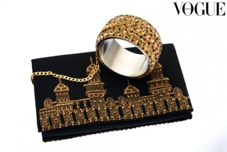 Vogue India Fashion's Night Out Features 37 Exclusive Black Clutches by 37 India