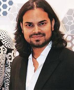 Indian Fashion Designer Rahul Mishra - Launches his collection at Harvey Nichols in London
