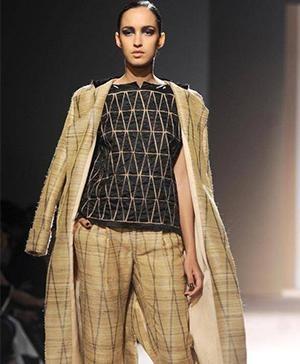 Indian Fashion Designers Abraham & Thakore's Silk Autumn/Winter Collection