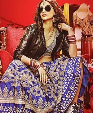 Sonam Kapoor In Anupamaa Dayal For Her Latest Movie- Sonam Kapoor