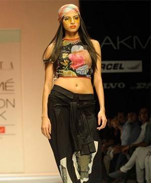 Indian fashion designer - fashion show Asmita Marwa Collection - LFW 2013