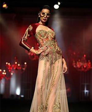Falguni and Shane Peacock's Edgy Indian Bridal Collection at India Bridal Fashion Week- Falguni & Shane Peacock