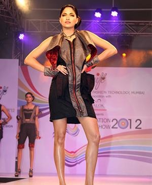 The Indian fashion Graduation Show of the National Institute of Fashion Technology