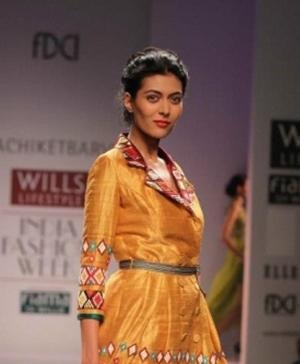 Indian Fashion - Indian Fashion Designer Nachiket Barve - WIFW SS 13