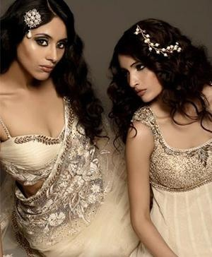 Indian designer Pam Mehta's Indian clothes including Indian Bridal wear