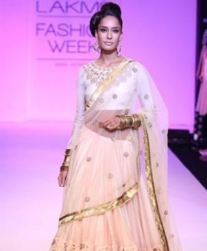 Indian Designer Payal Singhal New Collection Lakme Fashion Week 2013