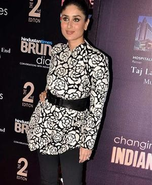 Kareena Kapoor in a Jacket by Indian Fashion Designer Rajesh Pratap Singh