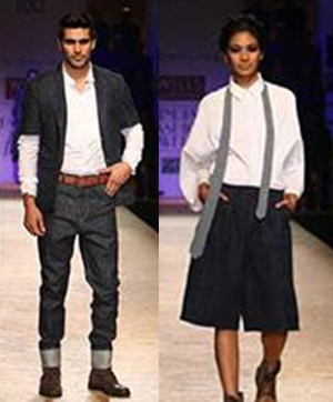 Rajesh Pratap Singhs Denim tribute at Wills Lifestyle Fashion Week | Catwalk