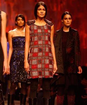Dresses, Jackets, Tops wearing Rajesh Pratap Singh's collections