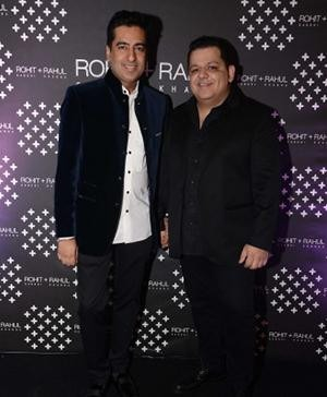 Rohit Gandhi & Rahul Khanna - Indian Designers for Audi's Autumn Collection 2014