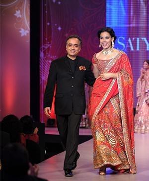 Indian Fashion Designer Satya Paul Ethnic Bridal Collection