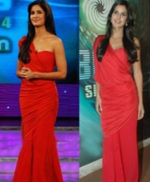 Indian Designer Tarun Tahiliani's Dress on Bollywood Star Katrina Kaif