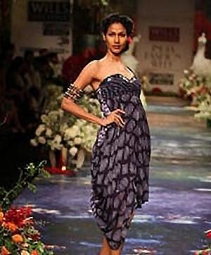 Indian Designer's Collections at WIlls Fashion Week