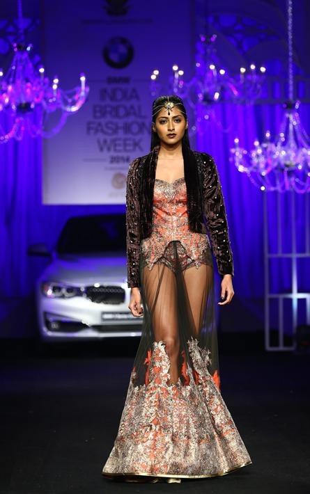 Shane and Falguni Peacock's Rock N Roll Bride | BMW India Bridal Fashion Week 2014