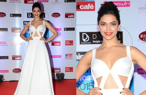 Trend feature: Bollywood Celebrities Who Love Cut-out Dresses - Bollywood Actress Deepika Padukone