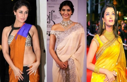 Bollywood Actresses in Sarees | Draped Saree Trend Takes Over Bollywood
