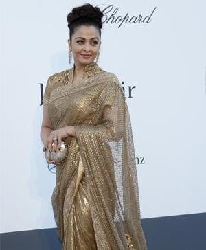 Bollywood Ladies Who Have Worn Ethnic Wear to Cannes | Aishwarya Rai at Cannes 2013