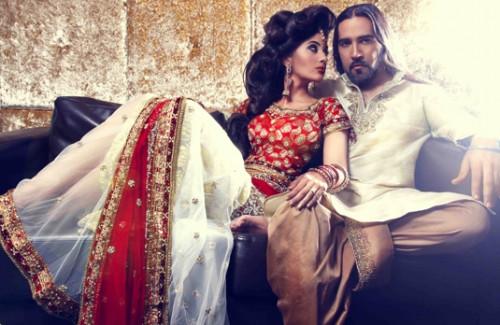Beautiful Red and White Bridal Lehenga | The Hottest Bridal Lehenga Colour Trends