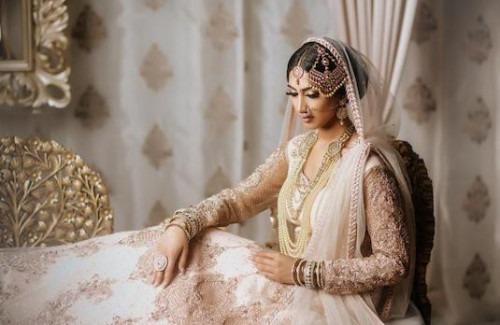 Real Indian Brides In White Outfits