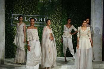 Bulgari Opened a New Store in New Delhi- Models in Bulgari jewellery