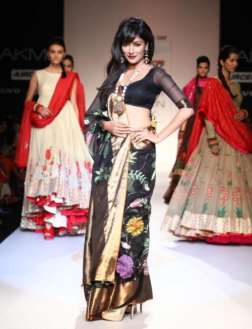 Chitrangada Singh Walks the Ramp For Indian Designer Gaurang at LFW