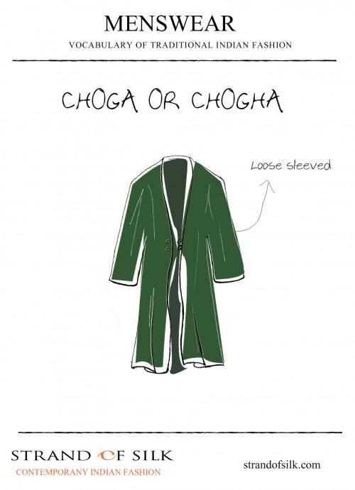 Menswear- Choga or Chogha