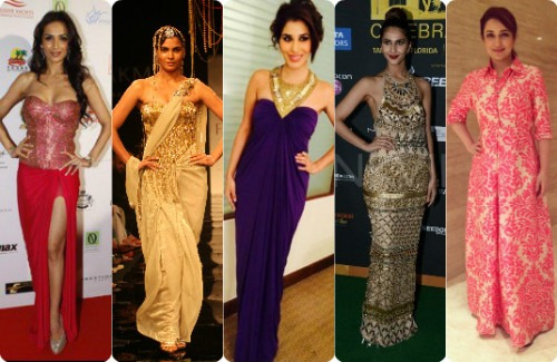Bollywood Celebs Wearing Strand Of Silk (Part 2)