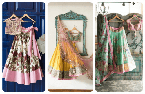 Simple Lehengas-Stylish Thoughts-Strand of Silk