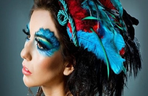 Bold and Detailed Blue Eyes Makeup | Creative Indian Makeup Trends for 2016 Straight From the Catwalk