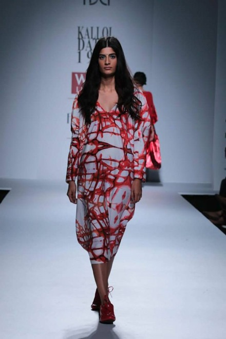 Kallol Datta's Collaboration with a Shoe Company at WIFW 2014