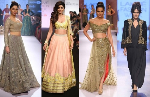 Celebs as Lakme fashion week winter festive showstoppers-strand-of-silk-stylish thoughts