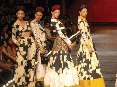 Designer Fashion on diasplay at Celebrity Fashion Shows