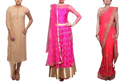 Indian Wedding Dresses For Different Occasions