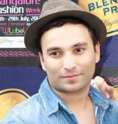 Indian Fashion Designer Sajid Dhar