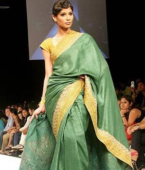 Fashion Designers Anamika Khanna, Rohit Bal and Rajesh Pratap Singh Showcased at the Event Organized by FDCI and GSKVIB  khadi colto