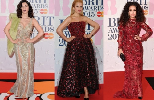 Fashion Highlights From the Brit Awards 2015 | Top Pick Best Dressed from the Brit Awards